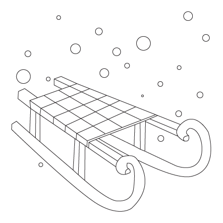 Luge Coloring Page - Ultra Coloring Pages | 450x450