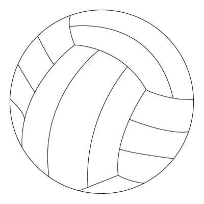 Ball coloring sheet